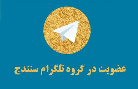 گروه تلگرام سنندجی ها